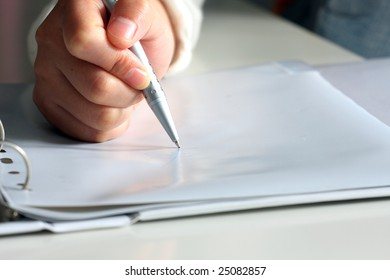 sign your contract, make your business plan