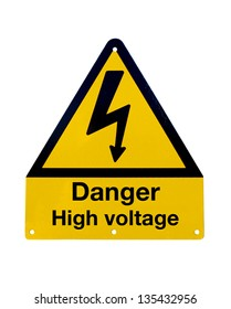 Signal of danger of death by electrocution following an electric shock