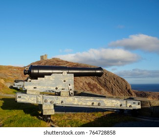 Signal hill historic site in the city of  St. John's, Newfoundland and Labrador, Canada