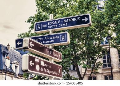The signal in Paris.