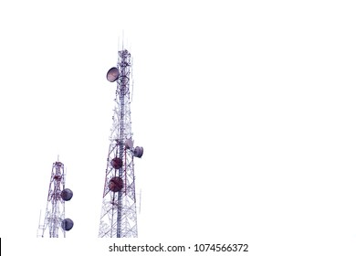 Signal Tower, on White background