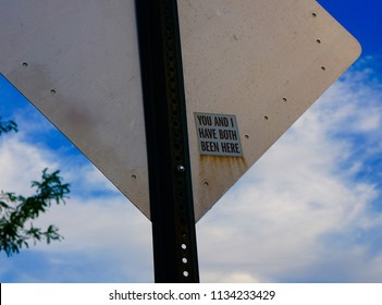 Signs And Blue Sky