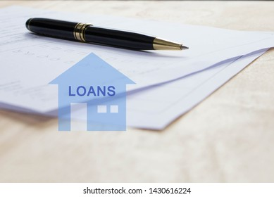 signs for home loans contract