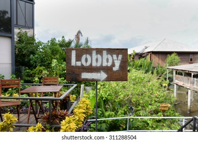 Signs to Lobby