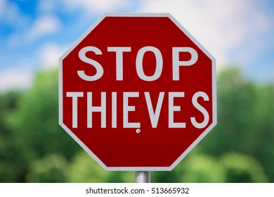 Sign-Stop Thieves