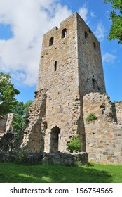 Sigtuna, Sweden.  Ruins of the medieval church St.Per, 13 century