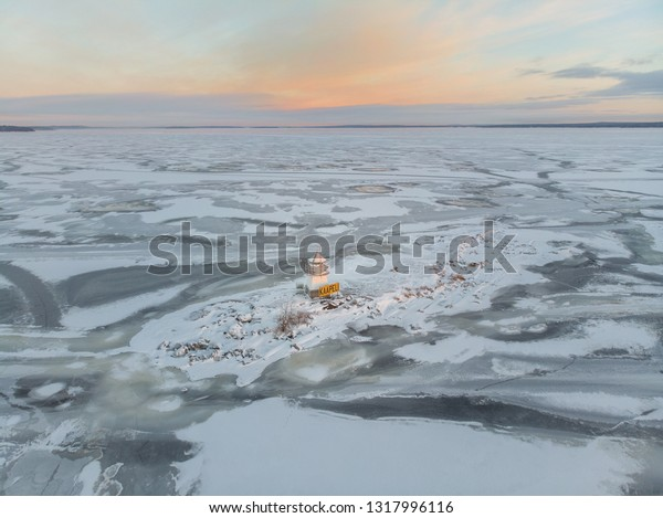 Siilinkari is a small islet (or island) in Näsijärvi, Tampere. The island has a small lighthouse, which is built in the early 20th century, securing inland waterways