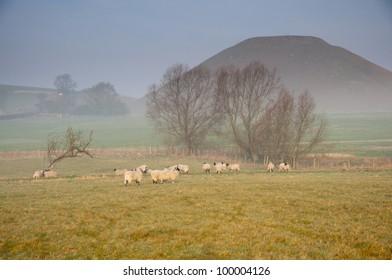Silbury hill, Avebury, Wiltshire
