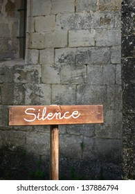 Silence in the church