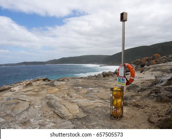'Silent Sentry' emergency rescue device, Western Australia