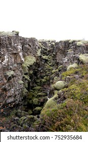 Silfra is a rift formed in the divergent tectonic boundary between the North American and Eurasian plates and is located in the Þingvallavatn Lake in the Þingvellir National Park in Iceland