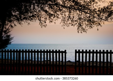 The Silhouette Fence