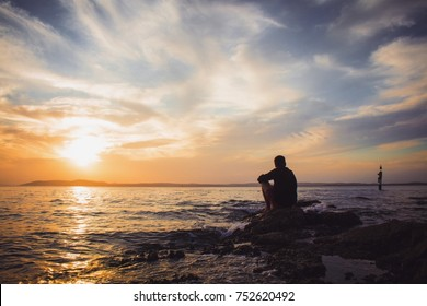 waiting for the sunrise
