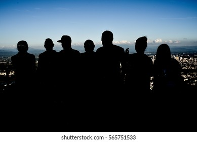 The silhouette gangster