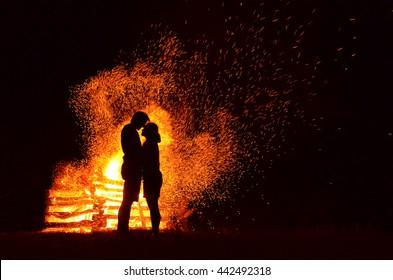 Fire Couple Images Stock Photos Vectors Shutterstock