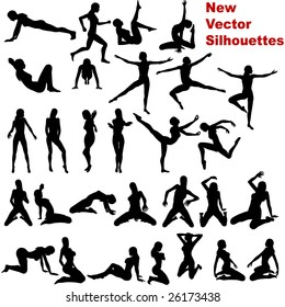 Silhouette, no vector version