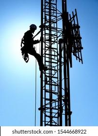 Tower Climber Images Stock Photos Vectors Shutterstock