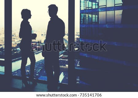 formal conversation between two persons