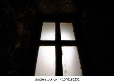 Silhouette of a window