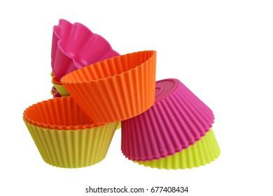 Silicon cupcake