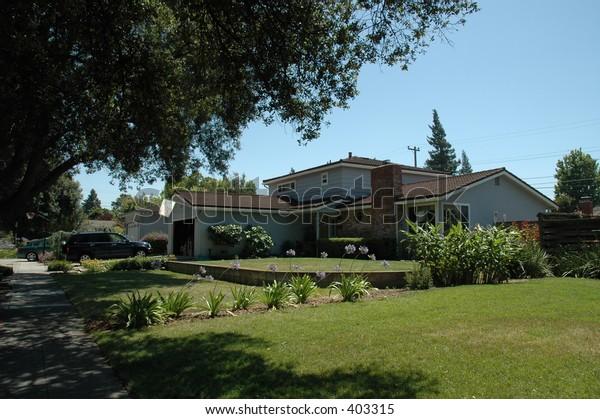 Silicon Valley residence, Sunnyvale, California