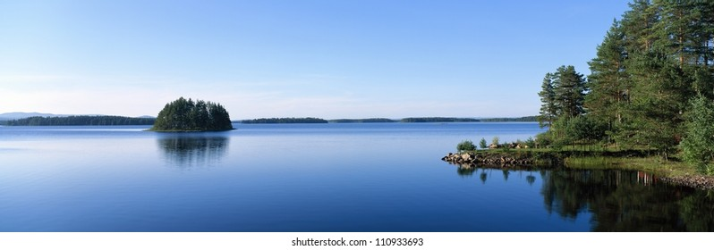 Siljan, Dalarna in Sweden.