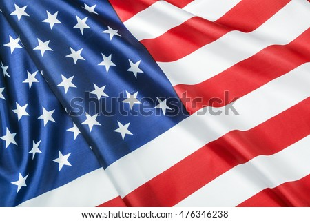 1821350a55a Silk American Flag Closeup Background Stock Photo (Edit Now ...