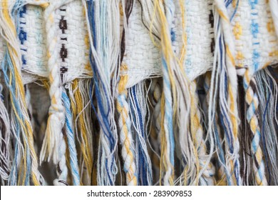 Silk fabric texture background.