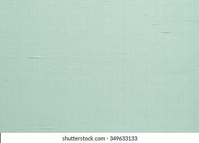Silk Fabric Wallpaper Texture Pattern Background In Pale Blue Green Teal Color
