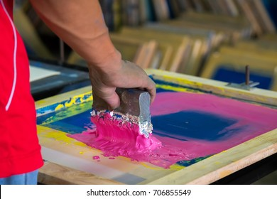 Silk screen Printing shirt