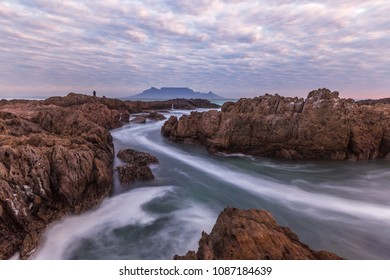 Silky Water & Moody Sky over Cape Town