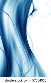 Silky wave and smoke background
