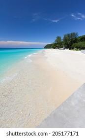 Silky white beaches, clear ocean water