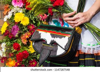 Silleteros Parade, Flower Fair, Medellin, Antioquia, Colombia