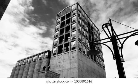Silo district building in Cape Town