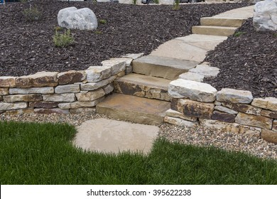 Siloam Steps and Retaining Walls
