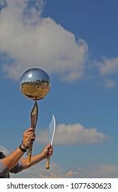 the silver ball juggler