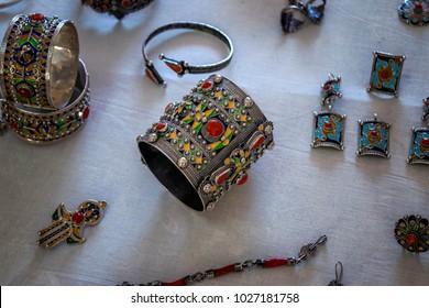 silver berber bracelet