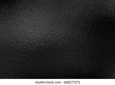 Silver black foil texture, metallic decorative background