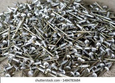 Silver blind rivet Screw Rivets for hand riveters