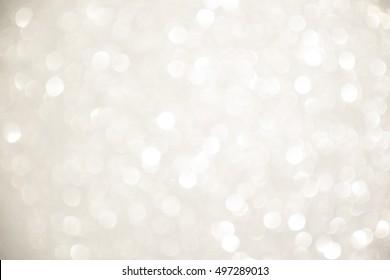 silver bokeh backgounds Abstract