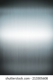 Silver brushed metal background texture wallpaper
