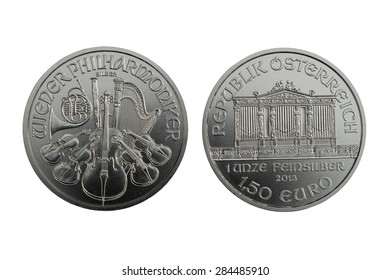 Silver Coin Vienna Philharmonic 1 oz 2013