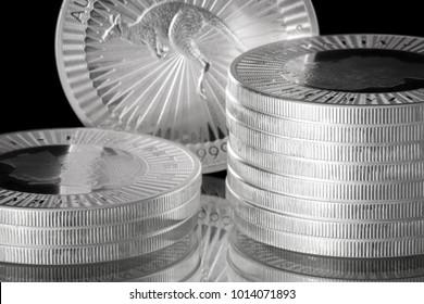 Silver Coins 1 oz troy ounce fine silver