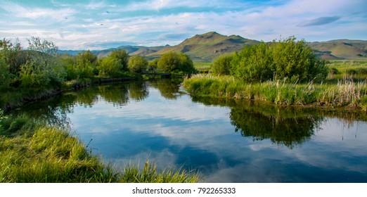 Silver Creek near Sun Valley, Idaho