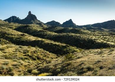 Silver Creek Rd between Oatman and Bullhead City, Arizona, USA