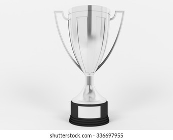 Silver cup for second place