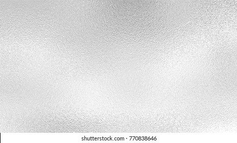 Silver foil background , gray platinum metallic texture