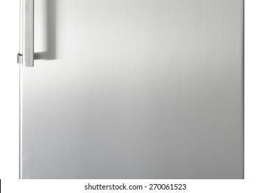 Silver fridge door with handle with free space for text  sc 1 st  Shutterstock : fridge door - pezcame.com