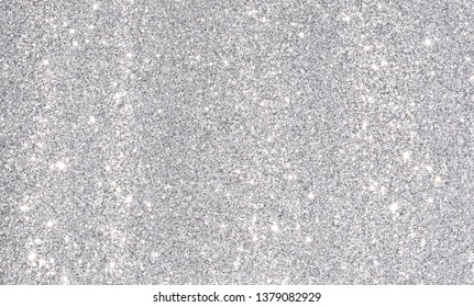 silver glitter abstract background